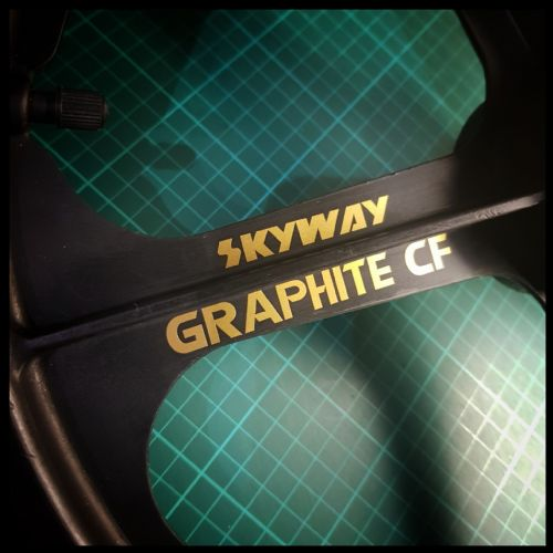 SKYWAY GRAPHITE WHEEL STICKERS